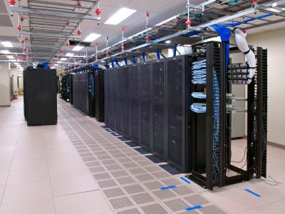 Informationen i bilregistret är lagrad i stora datacenter